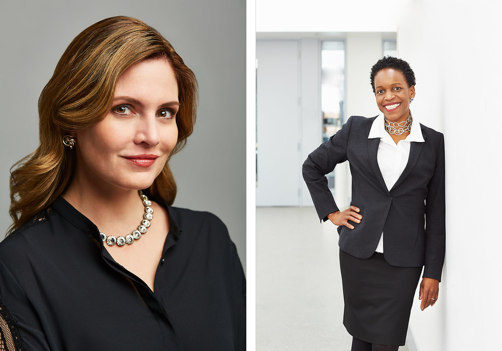 Business Portraits for TD Ameritrade and Chicago Magazine.