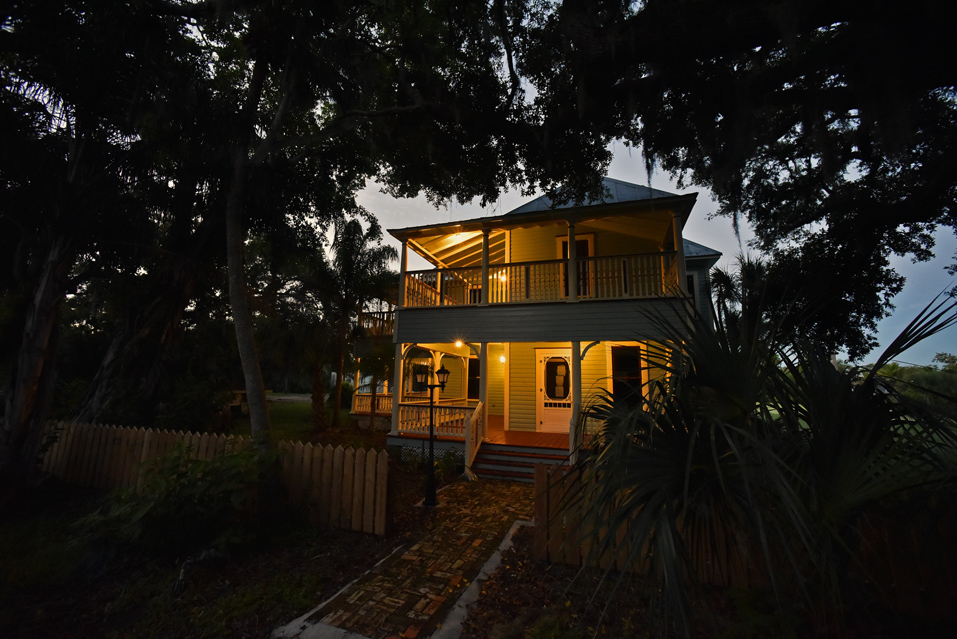 The Prine House, Bayshore Drive, Terra Ceia Island, Fla.