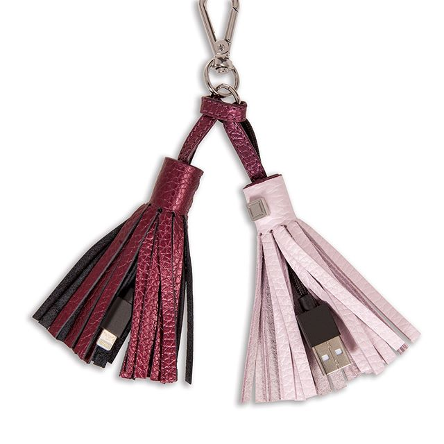 Time to be Tech! The Sara Tassel Key Fob w/ Charging Cable is only $5.99 with code SARATKF88 . Sale ends 2.14.19 @ 12pm PST. Cannot be combined with any other promo code. While supplies last.