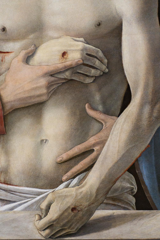 Post Meridian - Bellini Christ, Pinocoteca di Brera, Milan Italy