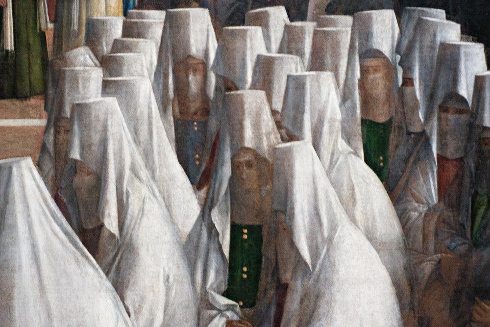 Post Meridian - Bellini Figures, Pinocoteca di Brera, Milan Italy