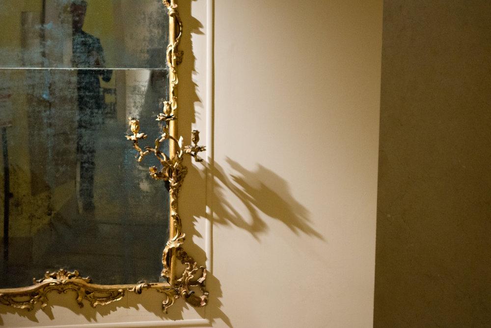 Post Meridian - Gilt Frame No. 1, Castello Sforzecco, Milan Italy