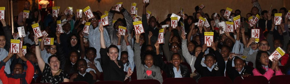 Students at Kinky Boots