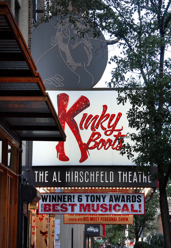 Kinky Boots Marquee