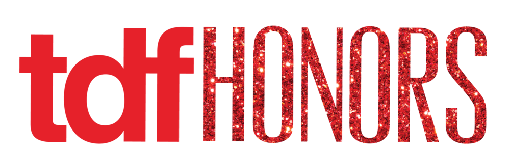 TDFHonors Logo with Glitter
