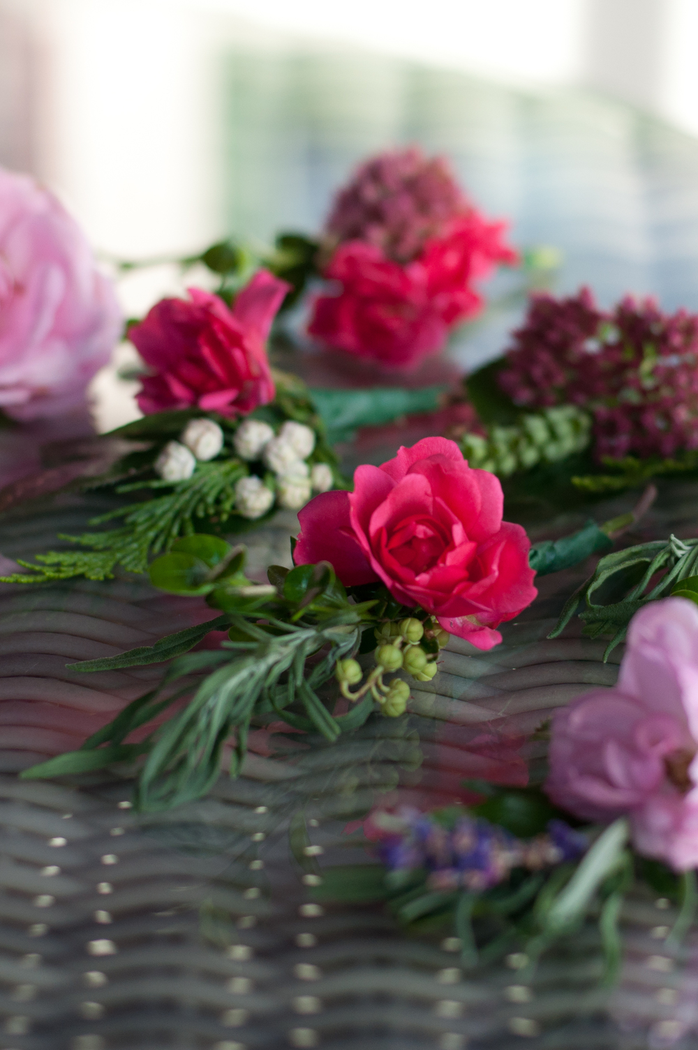 Mini flower boutonnieres