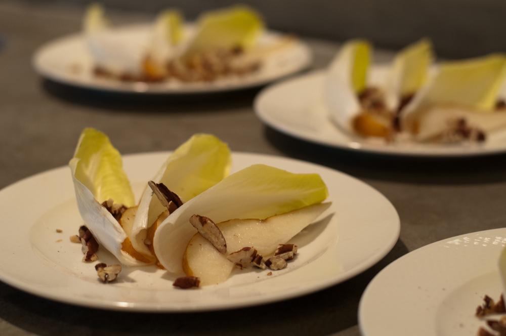 pecan pear endive salad