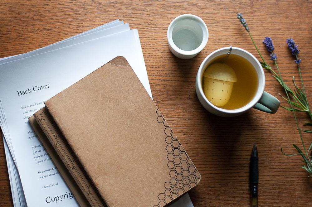 tea & journal morning