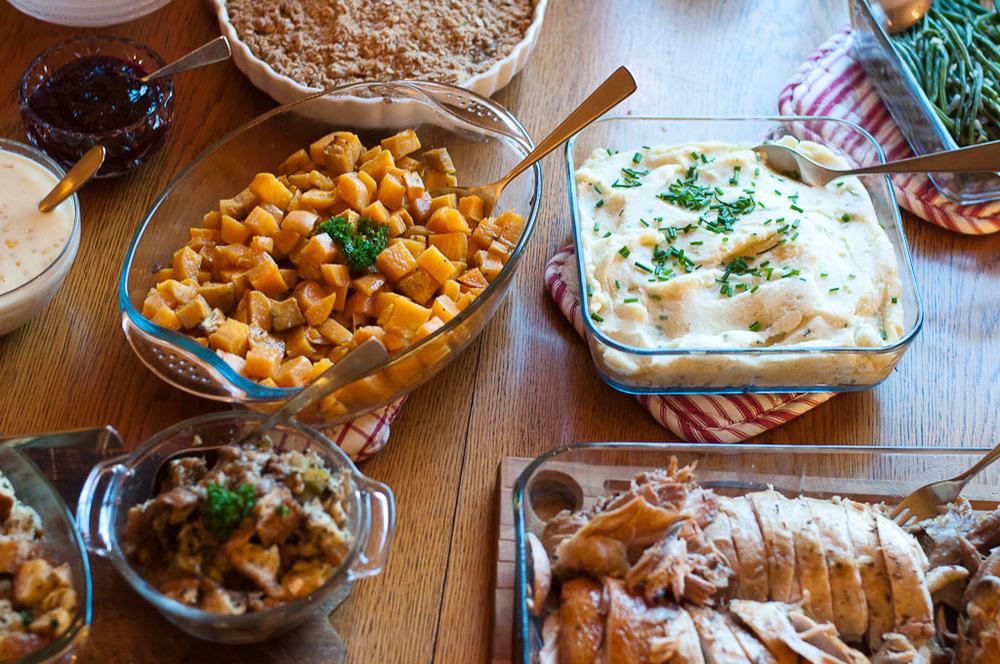 thanksgiving dinner feast