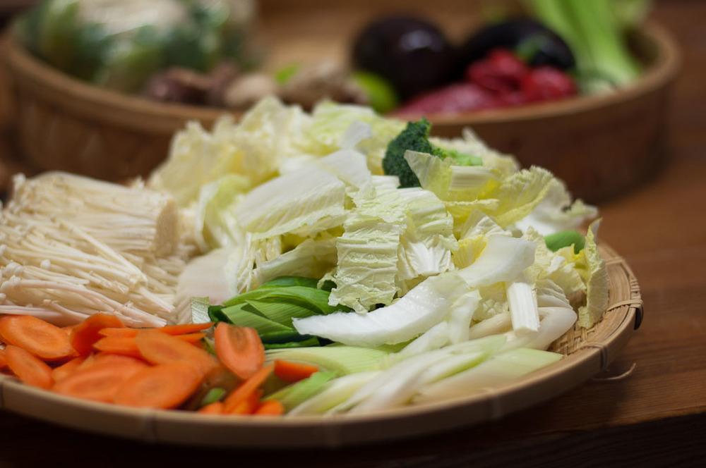 Sukiyaki Vegetables
