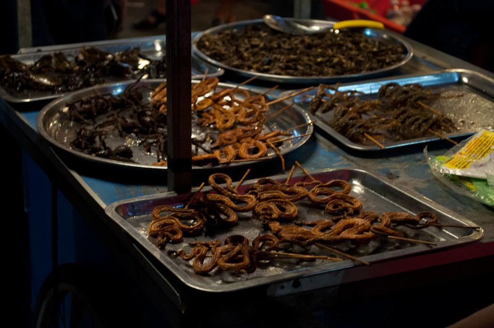 Night Market Food Cambodia