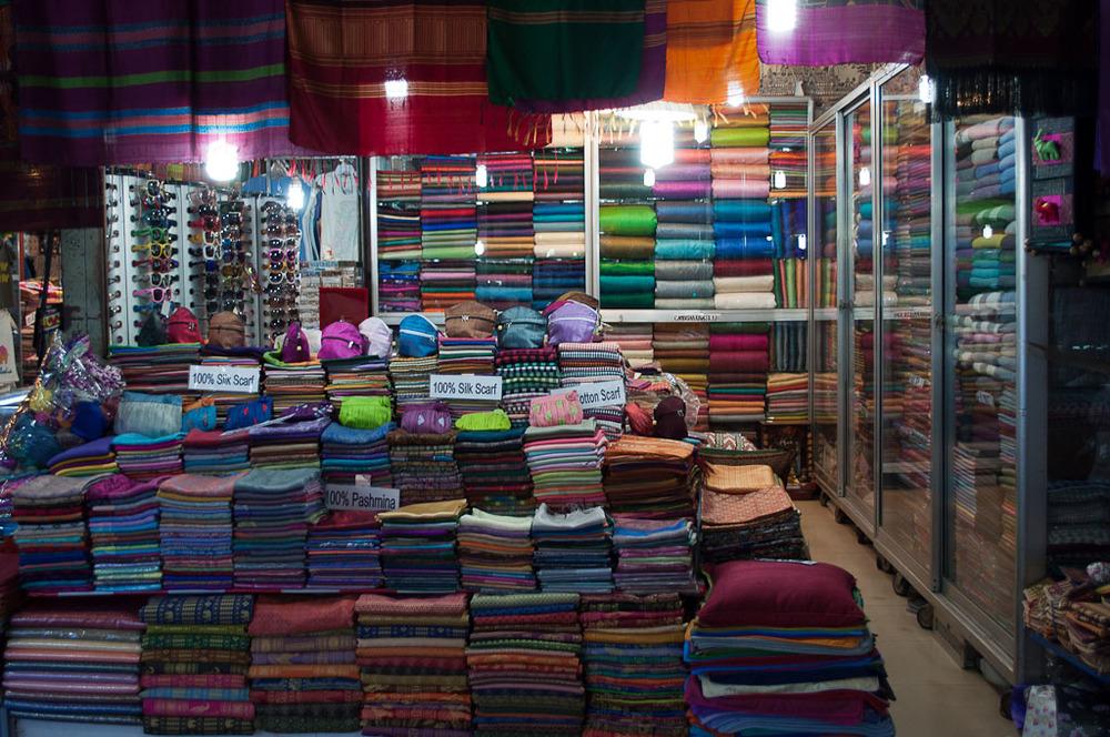 Cambodian Silk Night Market