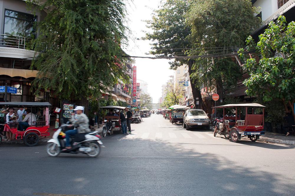 Street in Phnom Penh