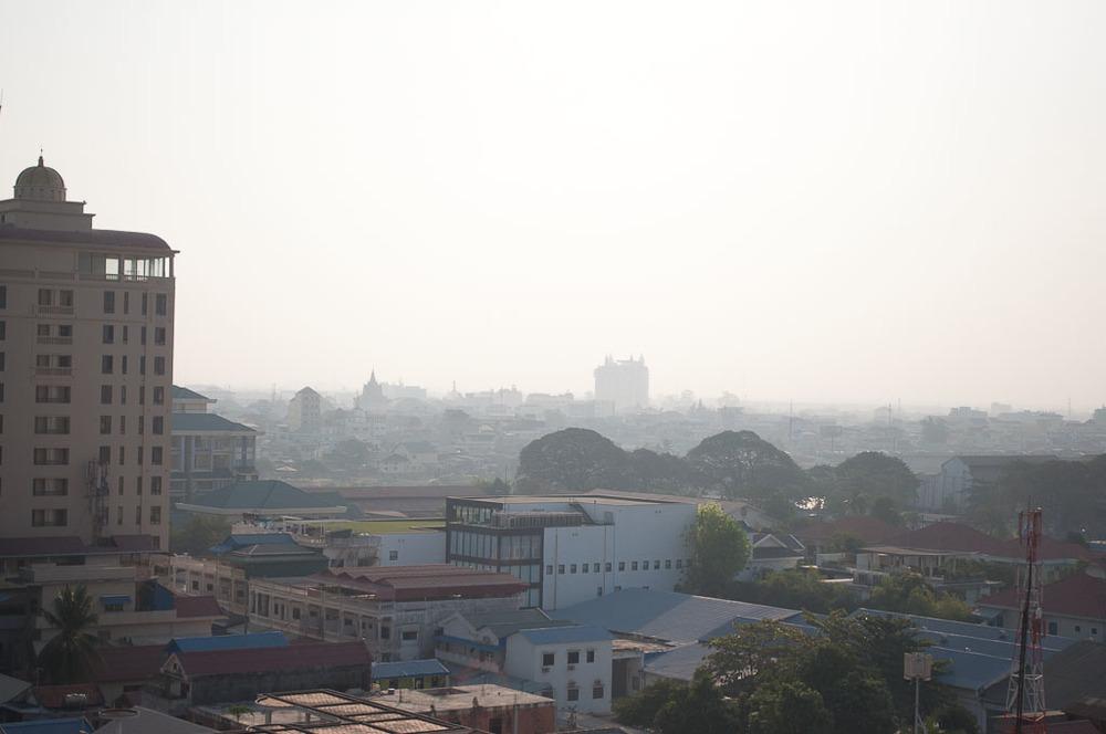 Sunrise Balcony View Phnom Penh