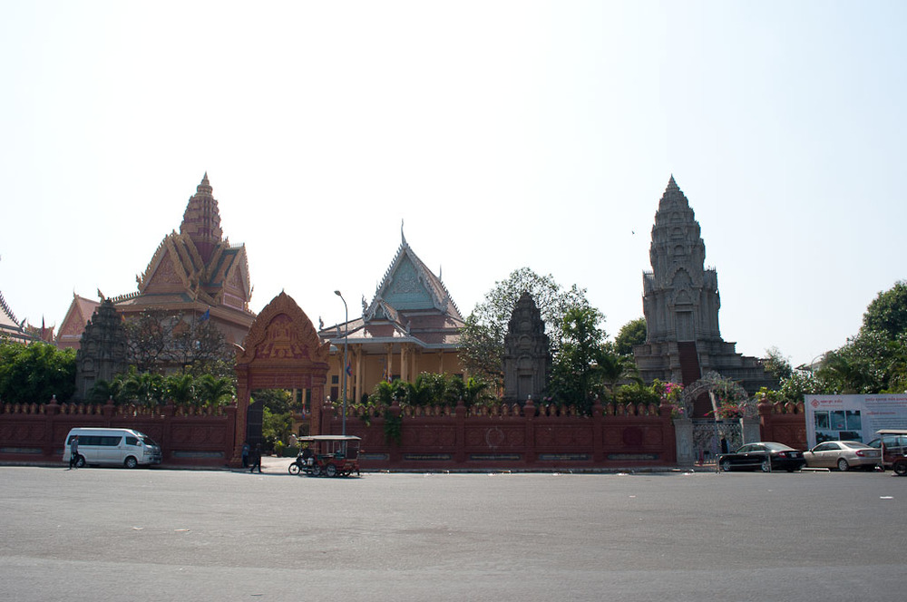 Palace and Temple Buildings Phnom Penh
