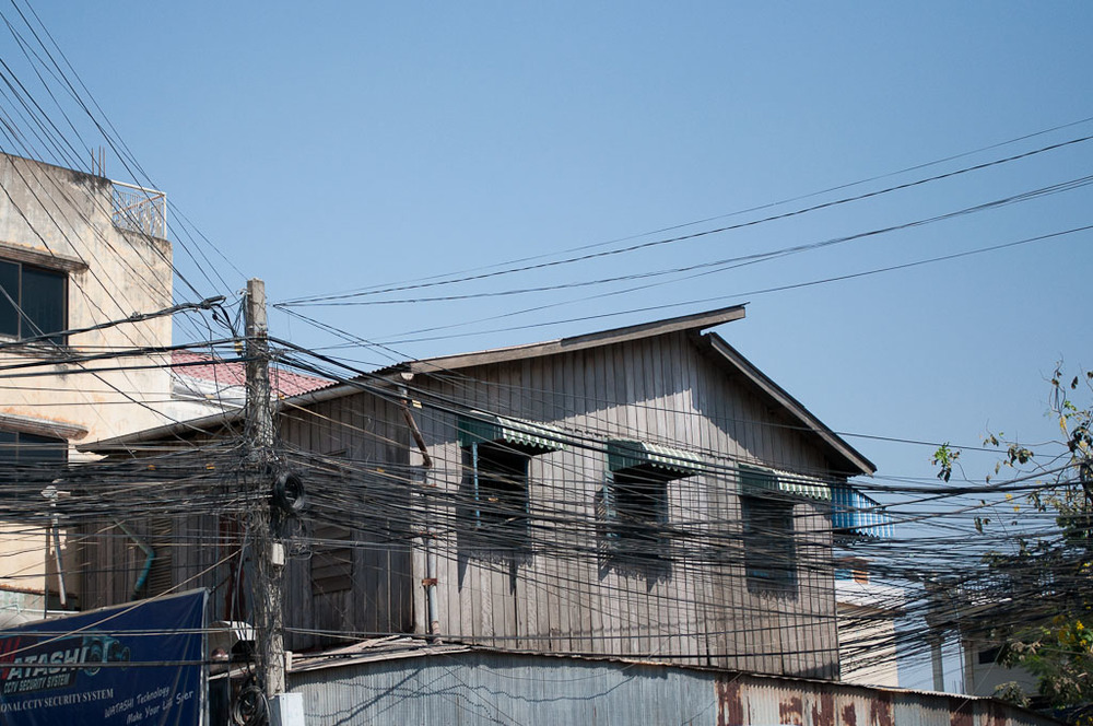 Powerlines in Cambodia