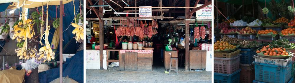 Street Market Cambodia