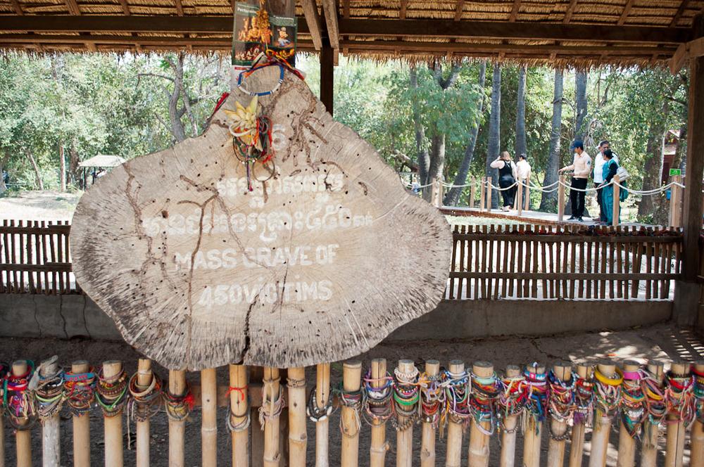 Mass Grave Choeung Ek Genocidal Center Cambodia