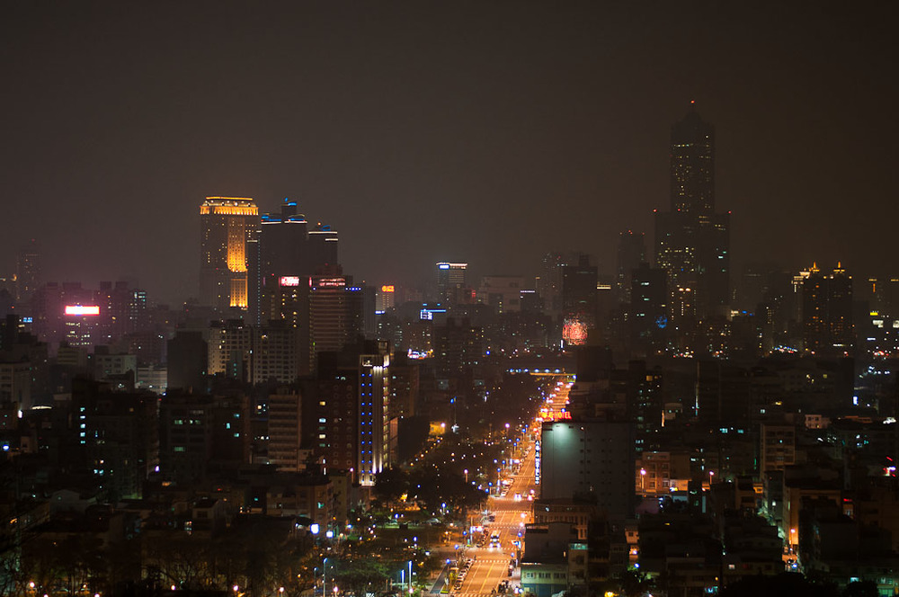 Kaohsiung Taiwan at Night