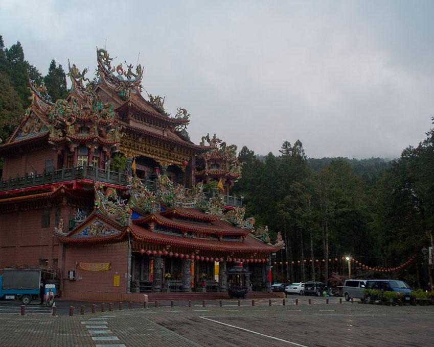 Alishan Temple Taiwan