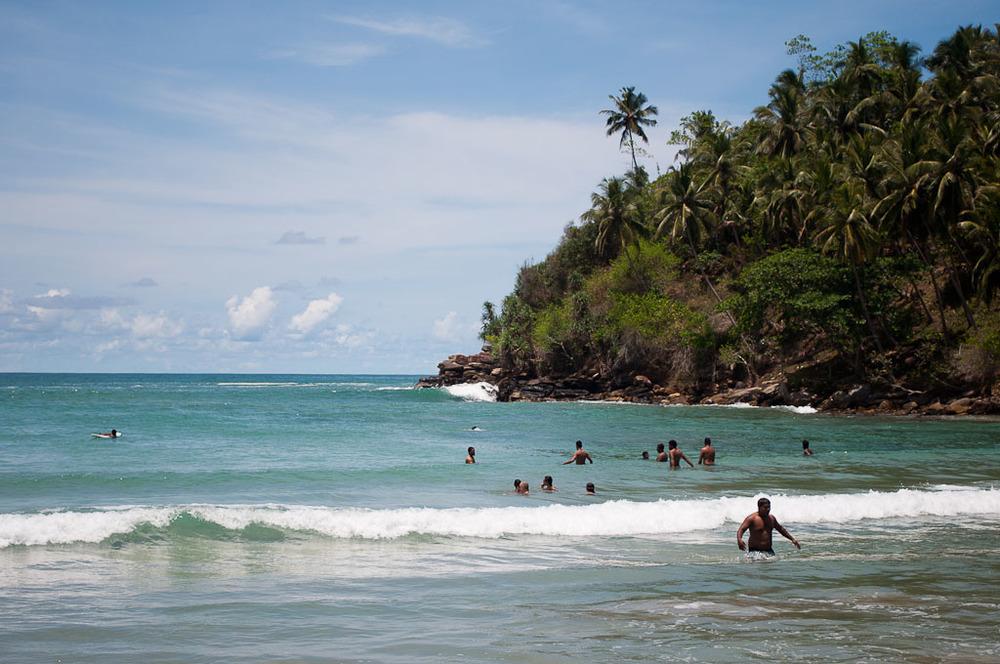 Sri Lanka Hirikatiya Ahagama Weligama Mirissa Arugum Bay Beach