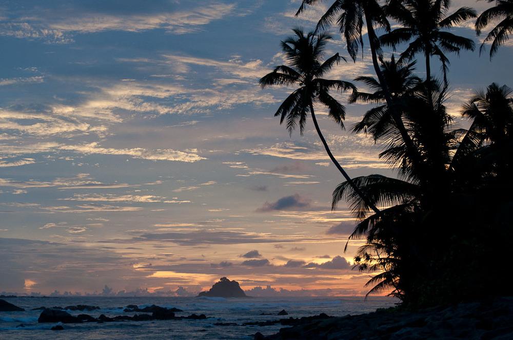 Beach Sunset Ahangama Midigama Weligama Mirissa Arugum Bay