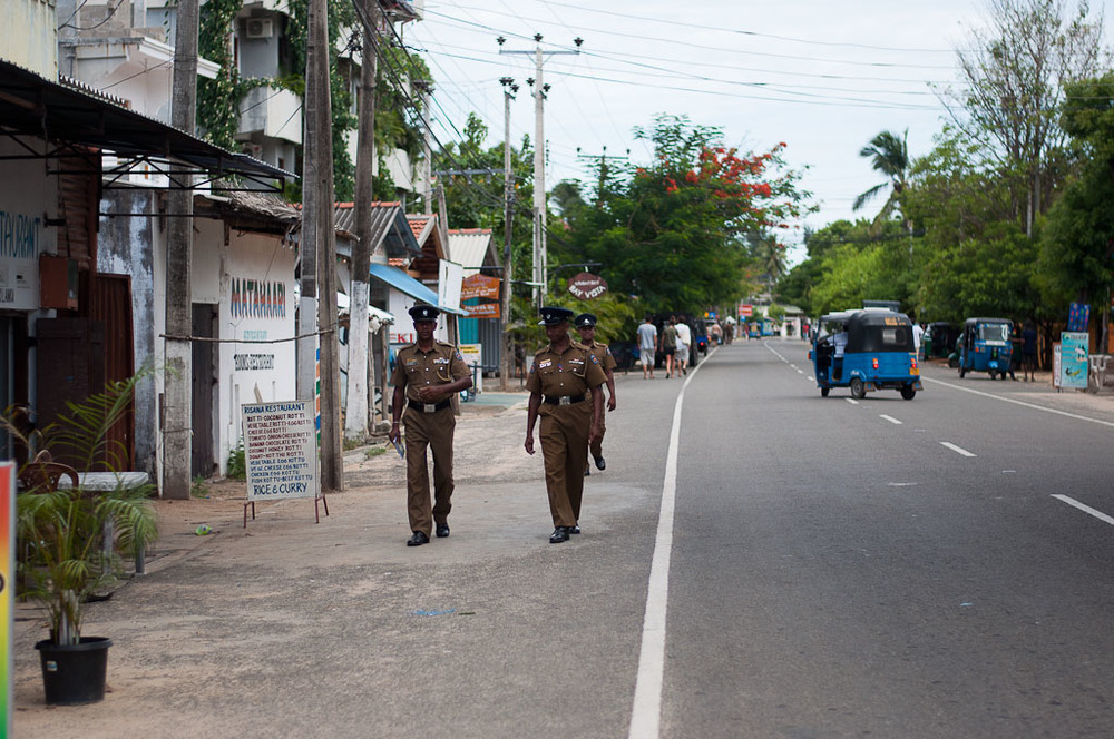 Arugam Bay Main Street Police
