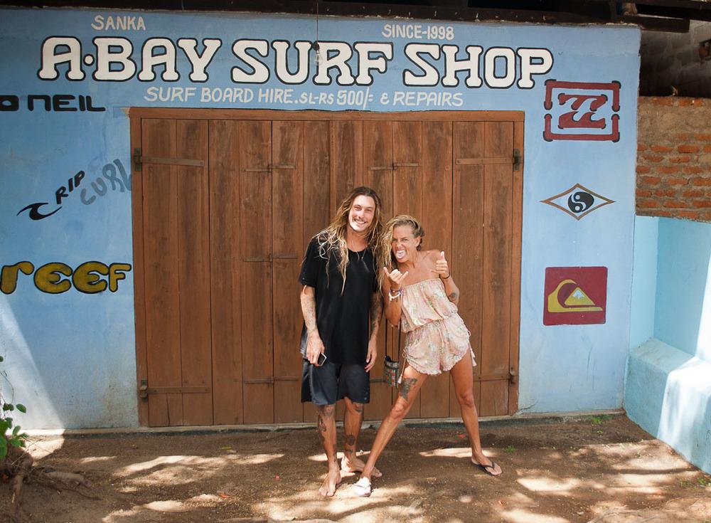 A-Bay Surf Shop Arugam Bay Sri Lanka