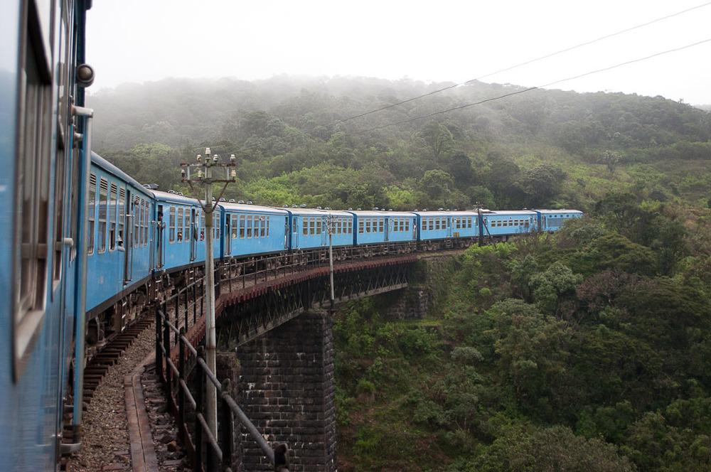 Ella to Kandy Train Ride Sri Lanka