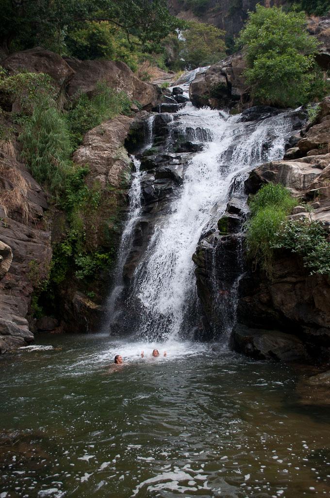 Waterfalls Ella Sri Lanka