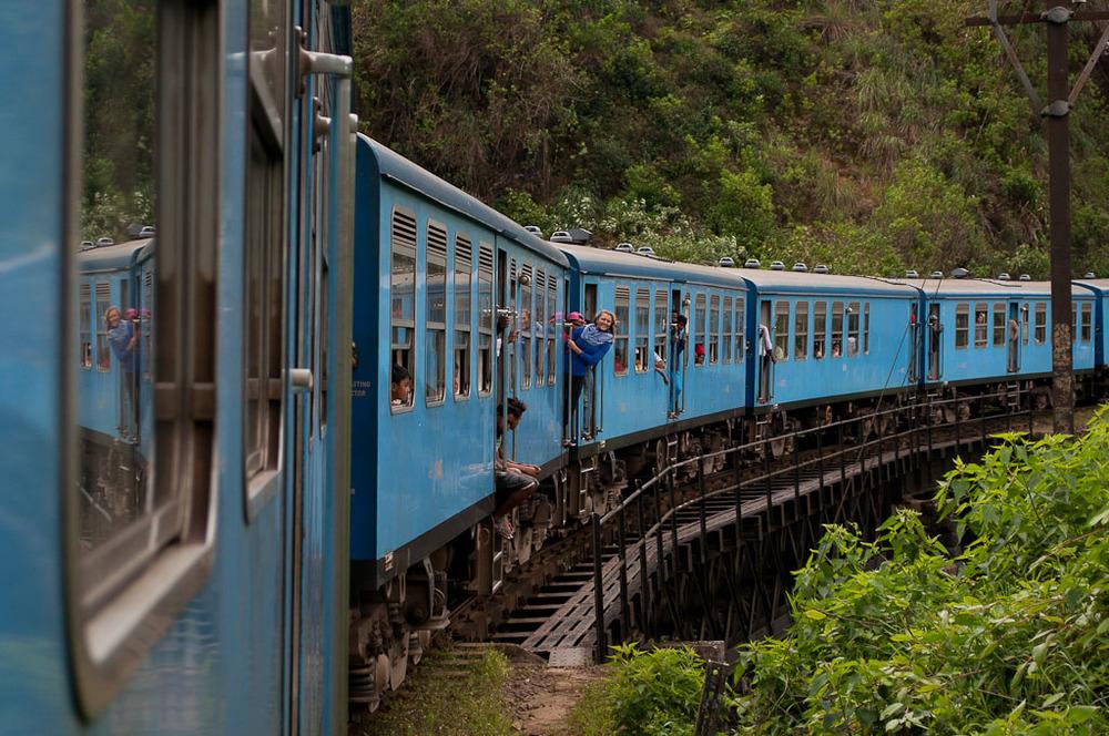 Ella Sri Lanka Train Ride Kandy Colombo