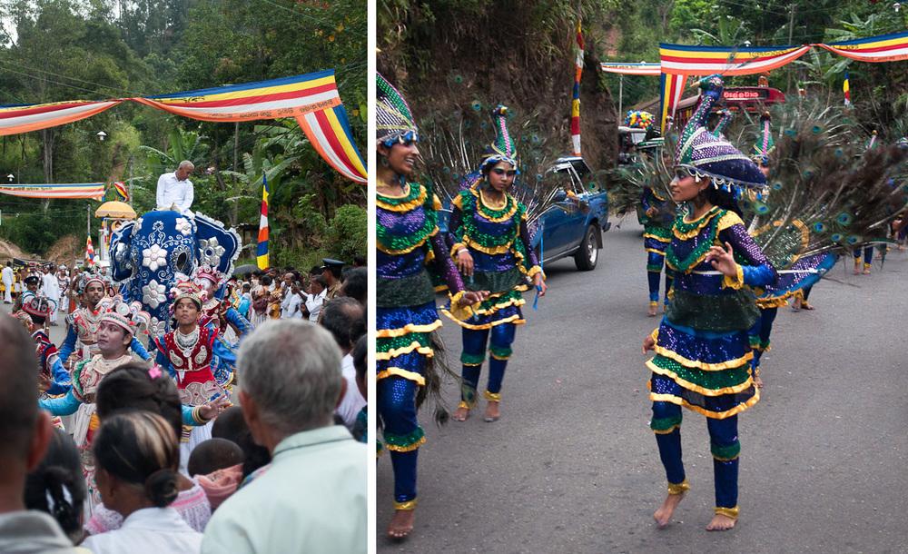 Sri Lanka Perahera Festival Ella