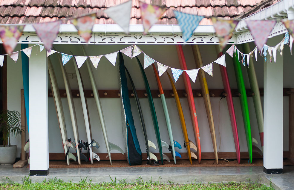 Surf Boards Sunshinestories Villa Ahangama Sri Lanka