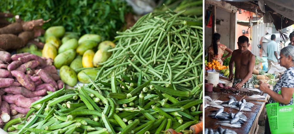 Vegetable Market Ahangama Sri Lanka