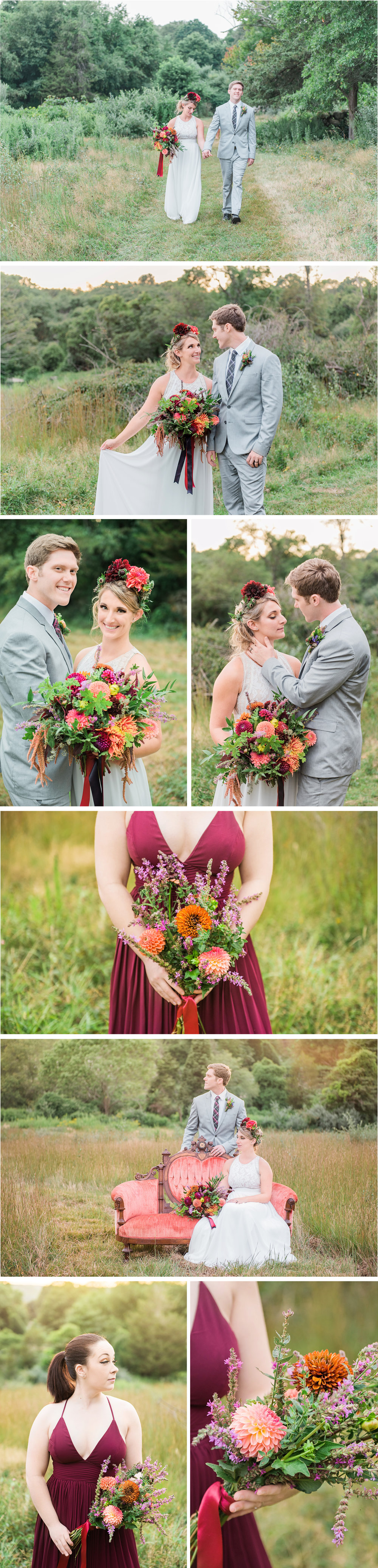 Connecticut Boho Bridal Wedding S and P 2