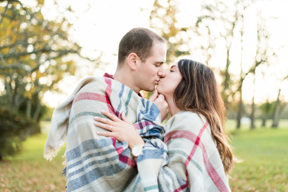 Bristol RI Mount Hope Farm Engagement Alicia Ann Photographie Fall Blanket.jpg