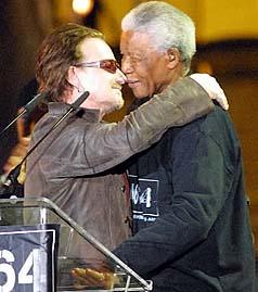 Bono_Mandela