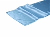 Blue Satin Table Runner Hire