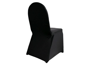 Black lycra chair cover hire sydney