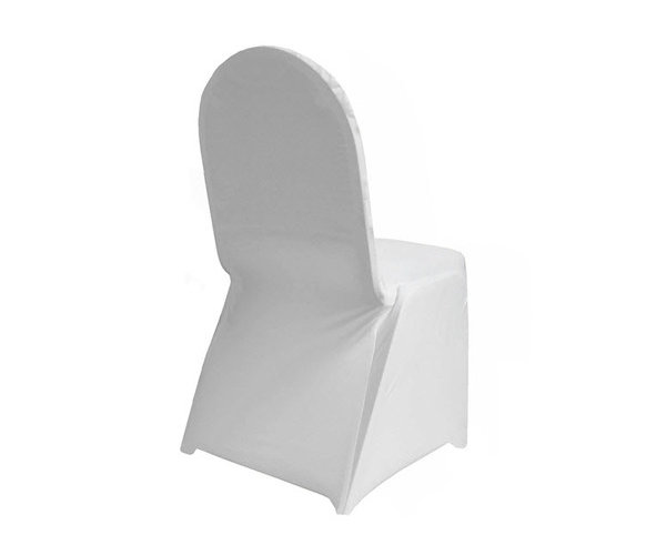 White lycra chair cover hire.jpg