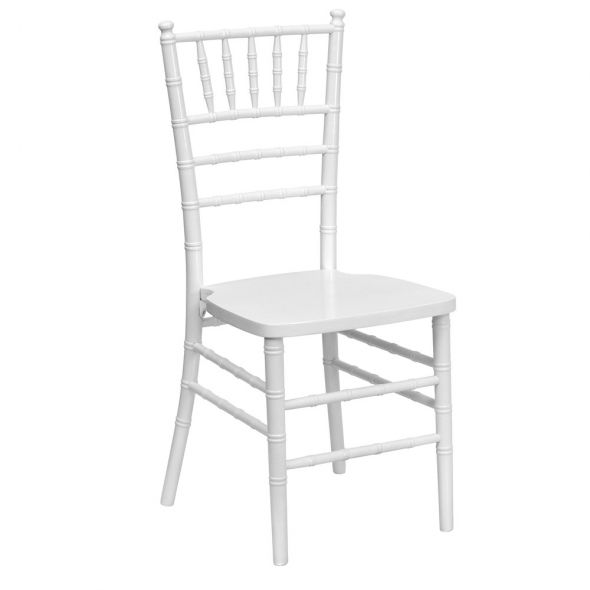 White tiffany chair hire sydney