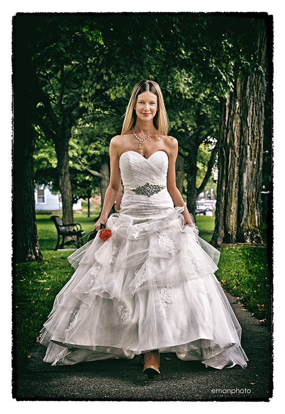 Model: Loganne Gregg-Eaton wearing Bridal Barn.
