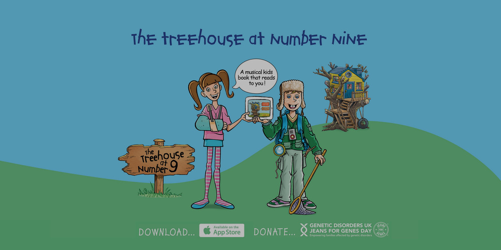 Treehouse at No. 9  We created a musical kids book with Adaptive Audio that reads to you!