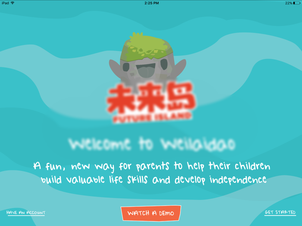 Wei Lai Dao  We created the music and sound effects for the fun and educational app Wei Lai Dao.