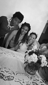 """Martine's Winning Mommy + her younger siblings.  """"SPREADin LOVE the SaySukii way"""""""