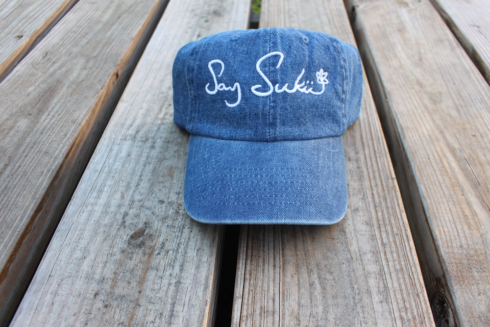 $40    LOGO HAT - DENIM     PURCHASE NOW