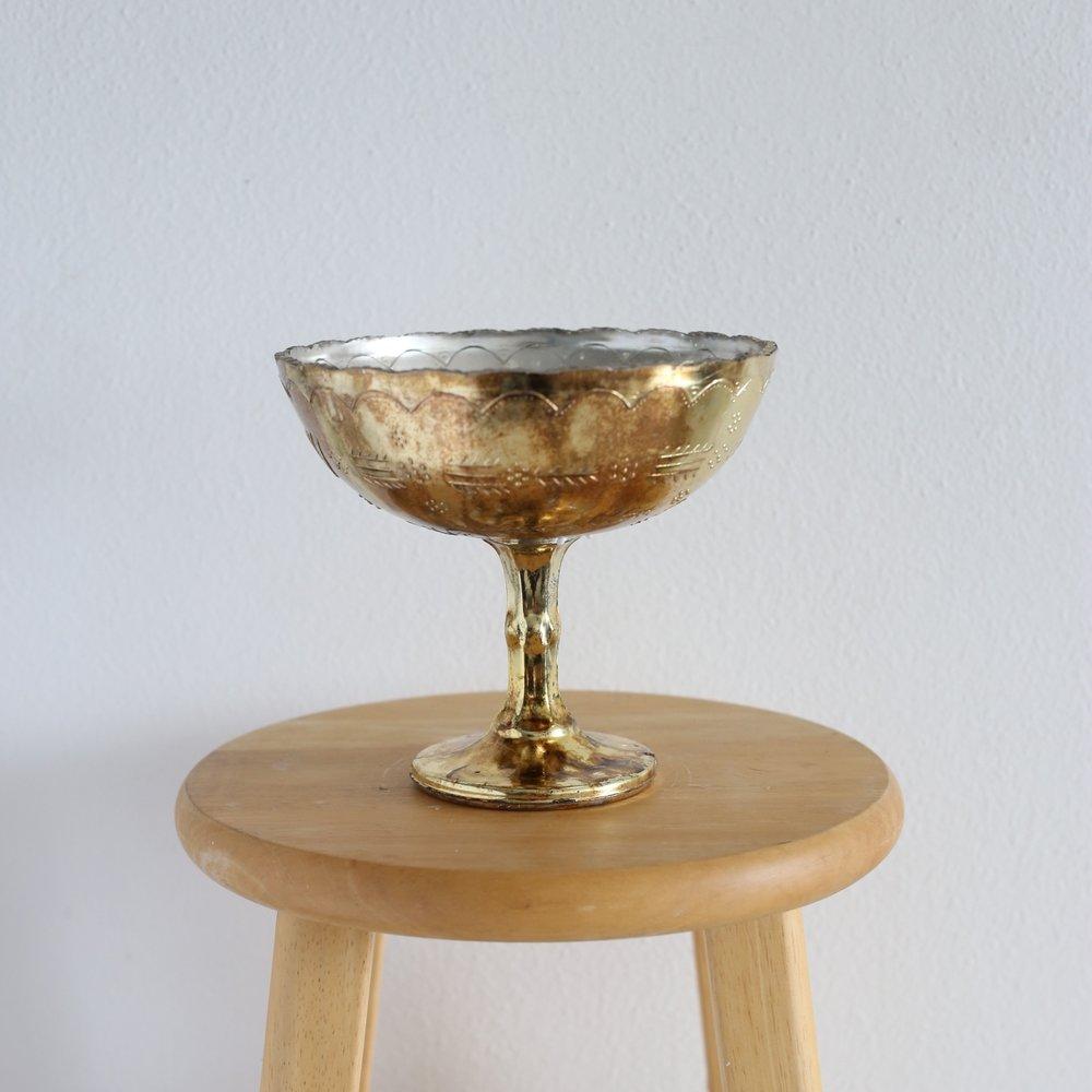 """pedestal bowl 7"""" x 8"""""""
