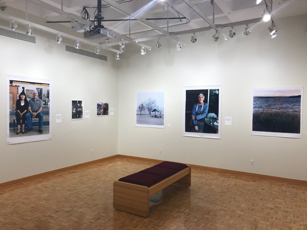 View of Exhibition at Mercer Gallery