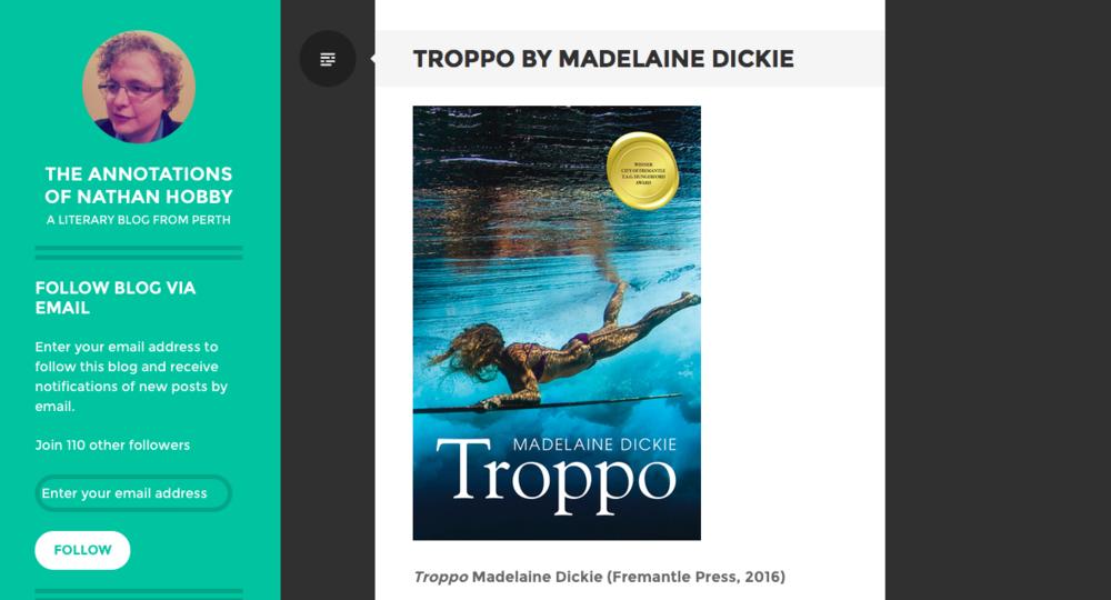 Madelaine Dickie Troppo