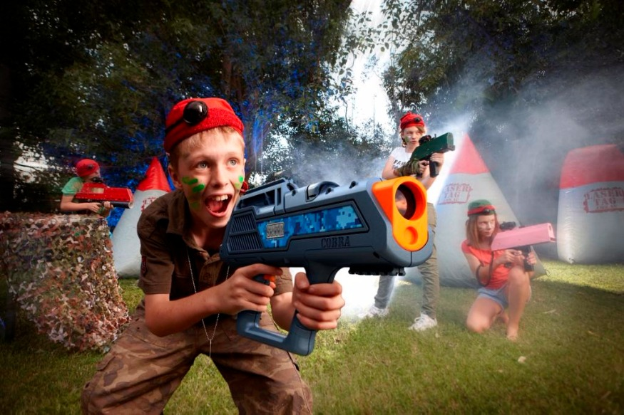 Laser Tag - Large or small events, children's parties, bucks parties, corporate events, team building.Laser tag is a tonne of fun for everyone and the best bit is we bring the game to you!Our Laser Tag is heaps of fun for all ages! It is played on a small yet tactical field and we can have up to 16 players per game.We set up a small field using existing structures as well as portable ones we bring.We bring the fun to you! we bring all equipment needed as well as a CO (commanding officer) to set up and run the games.For prices please contact us with your event location and details and we will send back a quote. Laser Tag equipment is only hired out with an operator.